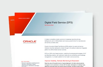 Differentiate and Increase Service Revenue with Digital Field Service