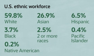 u.s. ethnic workforce