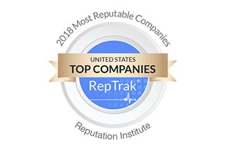 2018 Most Reputable Companies