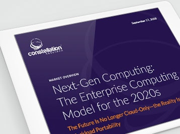 Constellation Research, Next-Gen Computing: The Enterprise Computing Model for the 2020s