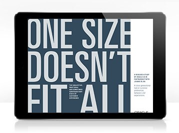 Get the 2019 Consumer Research Study from Oracle CX and Jeanne Bliss: One Size Doesn't Fit All