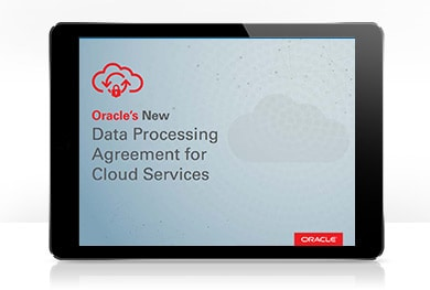 View the new data processing agreement for cloud