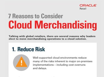 cloud merchandising infographic