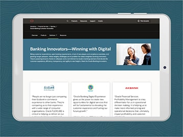 oracle banking innovations