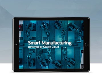 Oracle Smart Manufacturing video