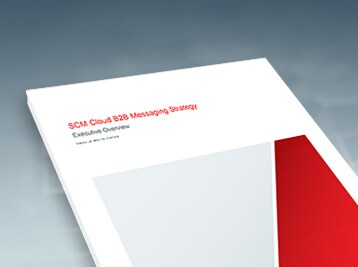 Supply Chain Management Cloud B2B Messaging Strategy white paper