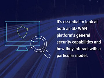 Three Different SD-WAN Security Models