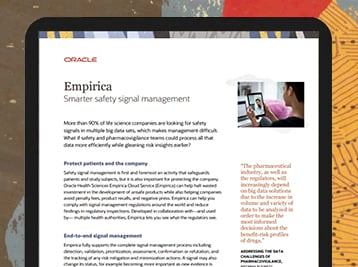 Oracle Health Sciences Safety Cloud