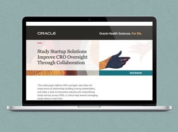 Study Startup Solutions Improve CRO Oversight Through Collaboration