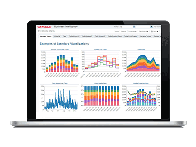 business intelligence 12c screenshot
