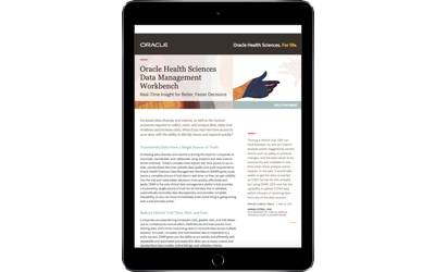 Solution Brief: Oracle Health Sciences Data Management Workbench