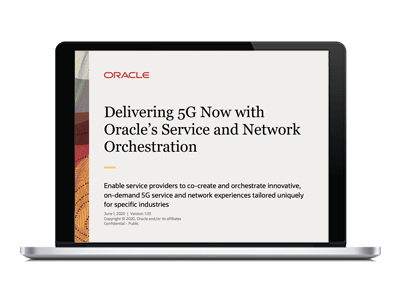Oracle Dynamic Orchestration