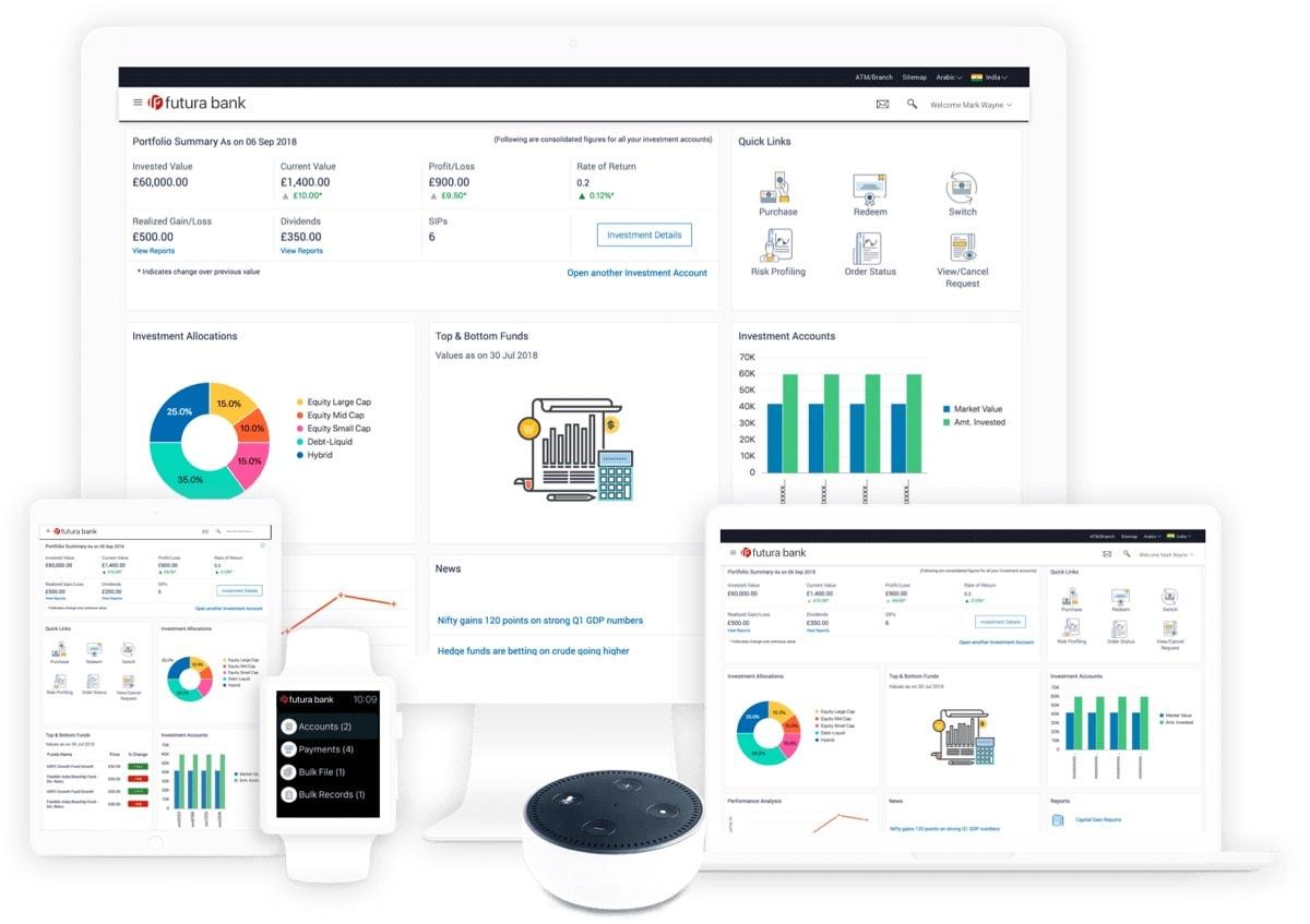 Banking Digital Experience Oracle