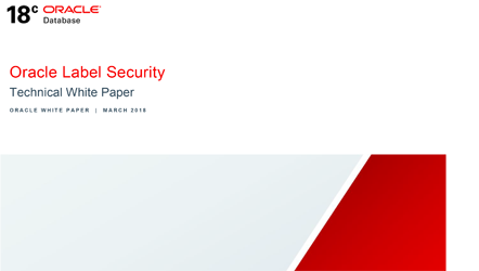 White Paper:  Oracle Label Security