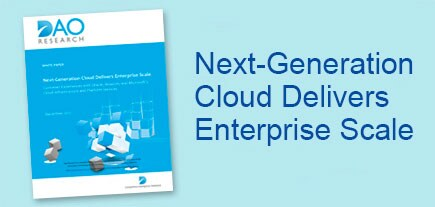 Next-Generation Cloud