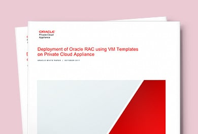 Deploy Oracle RAC on Oracle Private Cloud Appliance
