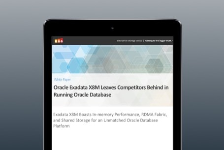 Oracle Exadata X8M Leaves Competitors Behind