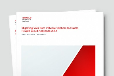 Migrate VMs from VMware to Oracle Private Cloud Appliance