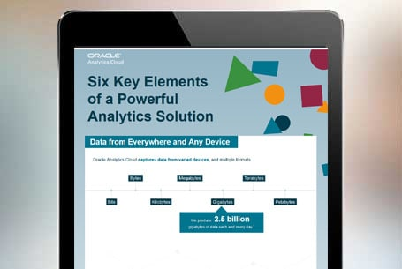 Six Key Elements of a Powerful Analytics Solution
