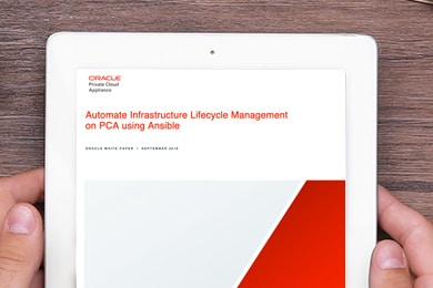 Automate Infrastructure Lifecycle Management on Oracle Private Cloud Appliance using Ansible