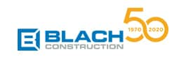 Blach Construction logo