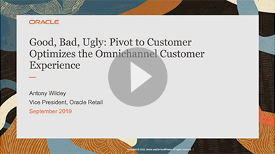 Good, bad, ugly: Pivot to Customer Optimizes the Omnichannel Customer Experience video