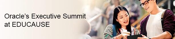 Oracle Executive Summit at EDUCAUSE