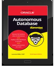 Oracle Autonomous Database for Dummies