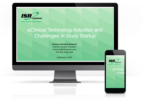 eClinical Technology Adoption and Challenges in Study Startup