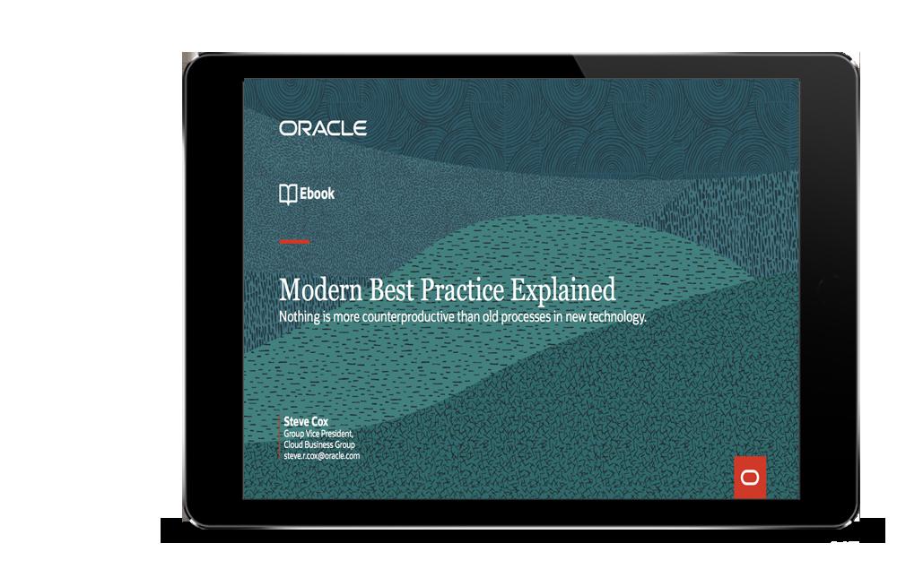 Oracle Modern Best Practice – Explained ebook
