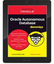 Oracle Autonomous Database for Dummies