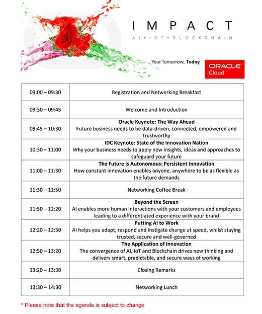 Agenda Impact