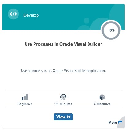 Oracle Visual Builder