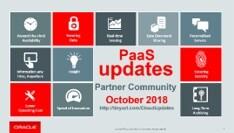 Paas Updates October