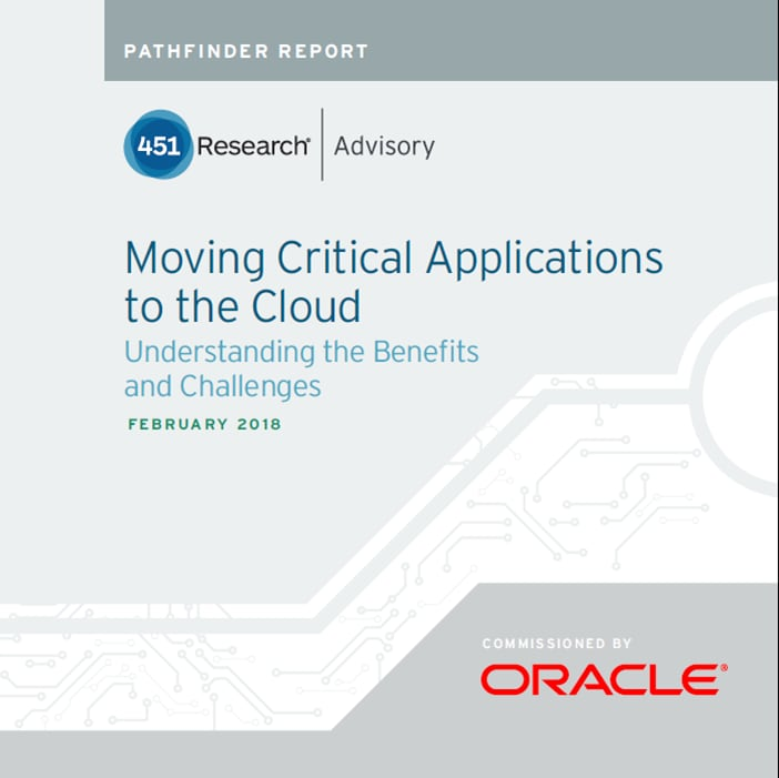 Moving Critical Applications to the Cloud