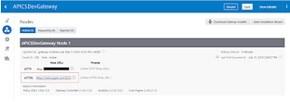 SSL certificate on API CS physical Gateway node