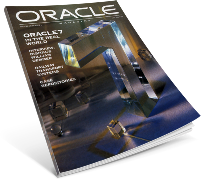 Oracle celebrates 15 years and Oracle7 release