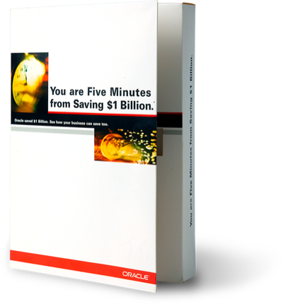 Oracle saves a billion—using Oracle
