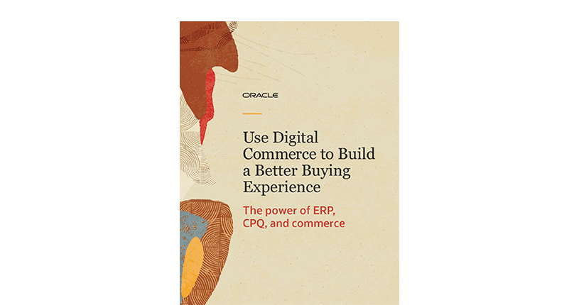 Use digital commerce to build a better buying experience