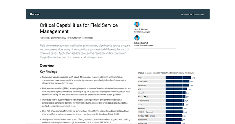 Asset-based field service management