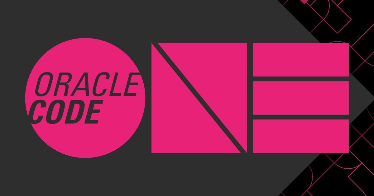 Oracle Code One 2019