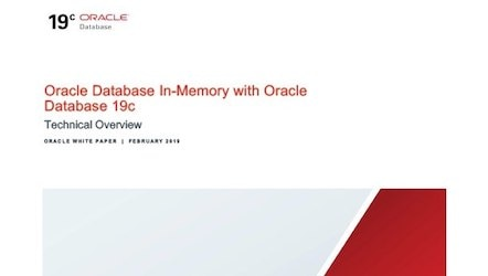 White paper: Oracle Database In-Memory (PDF)