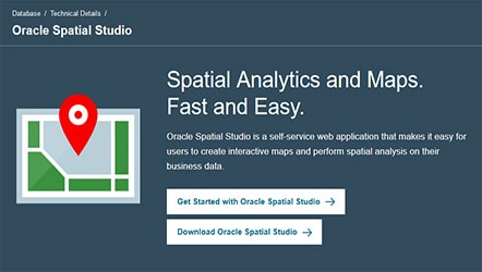 Oracle Spatial Studio