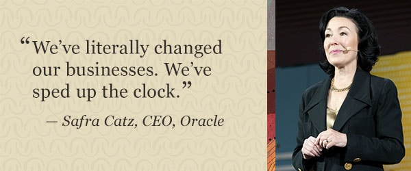 Oracle CEO Safra Catz on Digital Transformation