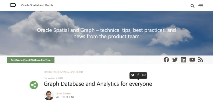 Graph Database and Analytics for Everyone