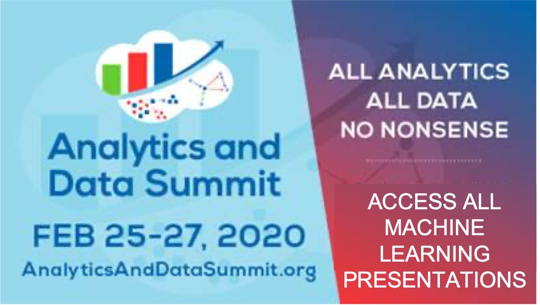 Check the Presentations from Analytics and Data Summit 2020