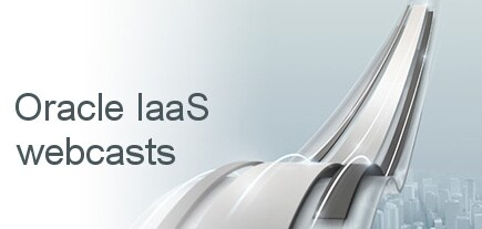 View Oracle IaaS webcasts
