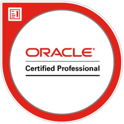 Oracle Professional Badge