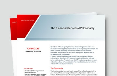 The Financial Services API Economy