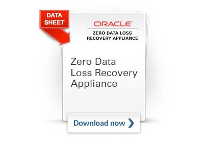 Zero Data Loss Recovery Appliance data sheet